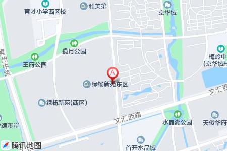 绿扬新苑地图信息