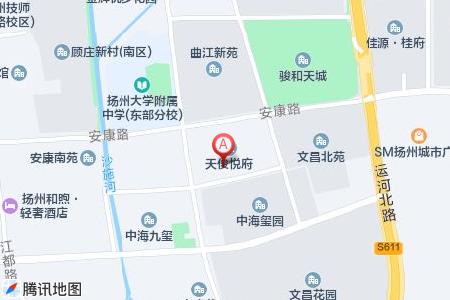 天俊悦府地图信息