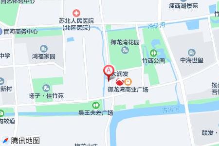 大上海御龙湾地图信息