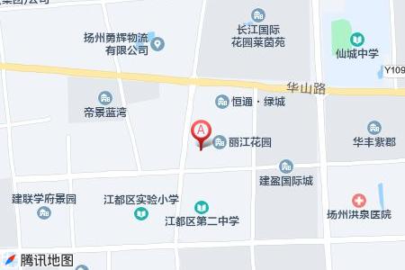 丽江花园地图信息