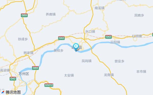 广州到云阳货运专线