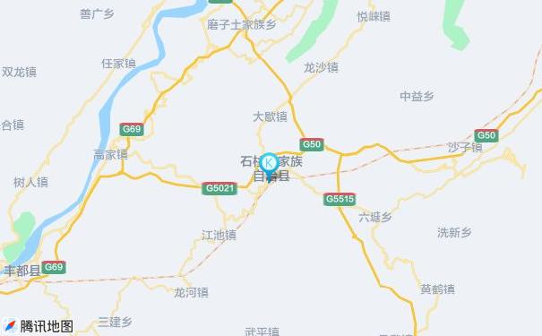广州到石柱货运专线