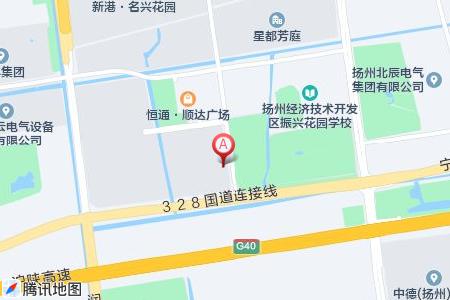 振兴花园地图信息