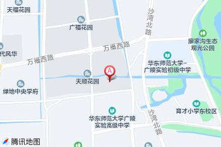 天顺花园地图信息