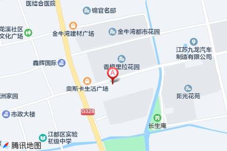 香格里拉花園地圖信息