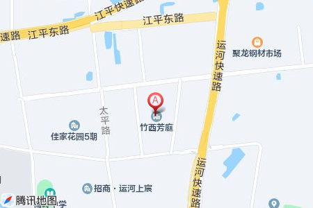 竹西芳庭地图信息