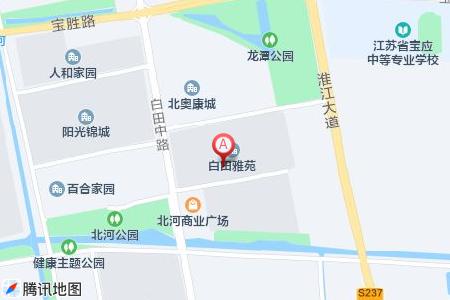 京华城怡景苑地图信息